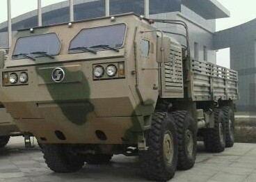 由我司提供配套的陕汽第三代重型战术军车成功中标解放军军车项目