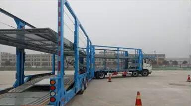 转向防碰预警系统在中置轴轿运车的重要性
